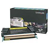 Lexmark C736H1YG Yellow Toner