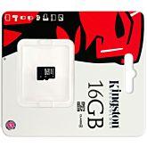 Card de memorie Kingston MicroSDHC, 16GB, Class 4