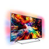 Televizor LED Smart Android Philips, 139 cm, 55PUS7303/12, 4K Ultra HD