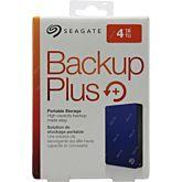 "HDD extern Seagate Backup Plus Slim Portable, metalic, 4TB, 2.5"", USB 3.0,Albastru"