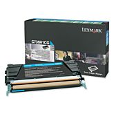 Toner Lexmark C736H1CG Cyan
