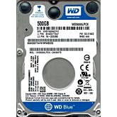 HDD Laptop WD Blue 500GB, 5400rpm, 16MB cache