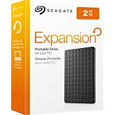 "HDD extern Seagate Expansion Portable 2TB, 2.5"", USB 3.0, Negru"