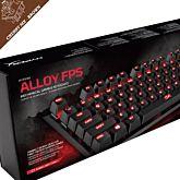 Tastatura mecanica gaming HyperX Alloy FPS, Cherry MX Brown