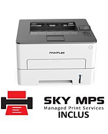 Imprimanta laser monocrom Pantum P3300DW A4, 35ppm, 1200dpi, 256MB ram, USB2.0, LAN, Wi-Fi,