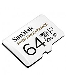 Sandisk High Endurance Video Monitoring microSDHC 64GB (Read/Write) 100/40 MB/s