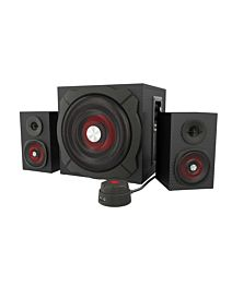 Genesis HELIUM 600 computer speakers 2.1, 60W RMS (wired remote control)