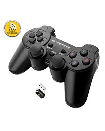 Gamepad ESPERANZA GLADIATOR EGG108K, vibratii, wireless, PC/PS3