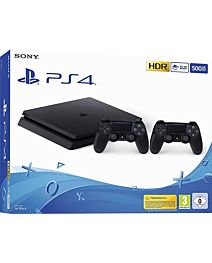Sony Playstation 4 Slim 500GB + 2nd Dual Shock Controller