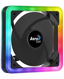 AEROCOOL EDGE ARGB DUAL RING LED Ventilator 140x140x25mm + 6PIN adapter