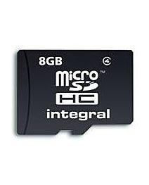 Card memorie Integral MICRO SDHC 8GB CL4