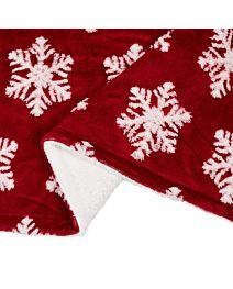 Patura fleece Rosie Stars cu blanita 127x150 cm Material : 100% Poliester