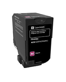 Lexmark 84C2HM0 Toner Cartridge Magenta