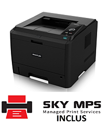 Imprimanta laser monocrom Pantum P3500DW, A4, Duplex, Retea, Wi-Fi, 33ppm