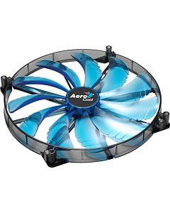 AEROCOOL SILENT MASTER BLUE LED Ventilator 200x200x20mm