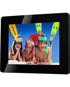 "Rama foto digitala Serioux SmartArt 882MLED, 8"", Slim, Black"