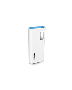 ADATA P12500D Power Bank, 12500mAh, alb