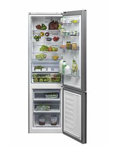 Combina frigorifica Beko RCNA400E20ZGR, 347 l, Clasa A+, H 201, Iluminare Led, Sticla rosie