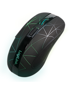 Mouse optic wireless LOGILINK, 2.4 GHz, iluminare