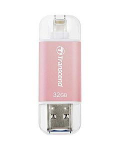 Transcend 32GB, USB drive for iOS device, JetDrive Go 300, Rose