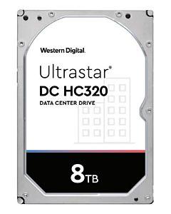 Western Digital Ultrastar DC HC320, 3.5', 8TB, SATA/600, 7200RPM, 256MB cache