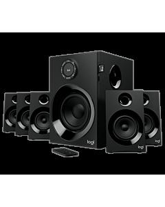 Logitech(R) Z607 5.1 Surround Sound Speaker System with Bluetooth, Black