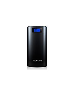 ADATA P20000D Power Bank, 20000mAh, LED flashlight, negru