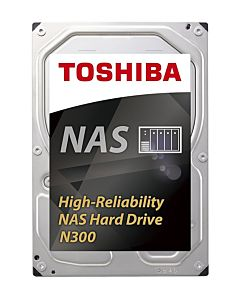 Internal HDD Toshiba N300, 3.5'', 6TB, SATA/600, 7200RPM, 128MB cache