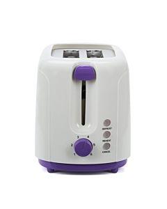 Prajitor de paine Heinner TP-750UV, 750W, 6 nivele de rumenire, 3 functii, violet