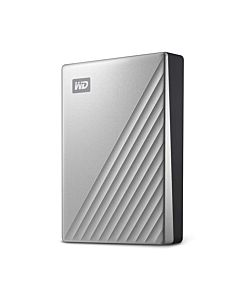 External HDD WD My Passport Ultra 2.5'' 4TB USB3.1 Silver Worldwide