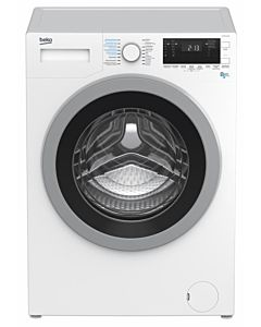 Masina de spalat rufe cu uscator Beko HTV8733XS0, 1400 RPM, Spalare 8 kg, Uscare 5 kg, 16 programe, Motor ProSmart Inverter, Wash & Wear, BabyProtect, Clasa A, Alb