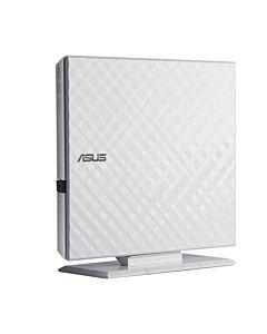 Unitate optica externa DVDRW ASUS, SDRW-08D2S-U, 8x Read, 8x Write, USB 2.0, Alb