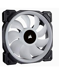 Ventilator PC Corsair LL120 White RGB LED Static Pressure 120 mm, PWM, pachet 3 bucati