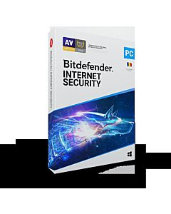 Licenta retail Bitdefender Internet Security 2020 - protectie completa pentru Windows, macOS, iOS si Android, protectie anti-ransomware cu remediere, control parental, prevenire amenintari din retea