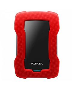 """HDD Extern ADATA Durable HD330 2TB, Shock Sensor, 2.5"""", USB 3.1, Rosu"""
