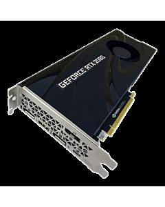 PNY GeForce RTX 2080 Blower, 8GB GDDR6 (256 Bit), HDMI, 3xDP, USB-C