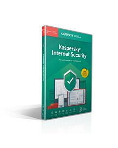 Licenta retail Kaspersky Internet Security - anti-virus pentru PC, Mac si dispozitive mobile