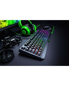 Tastatura mecanica gaming Razer BlackWidow 2019, layout US, green switch, Negru