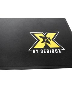 Mousepad X by Serioux Orrin, Gaming, 400 x 300 x 1 mm, Negru