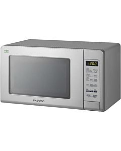 Microwave oven Daewoo KOR6S4DBI, 20L, 800W, Electronic, Steel Front