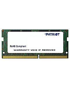 Memorie RAM notebook Patriot, SODIMM, DDR4, 4GB, 2133 Mhz, CL15, 1.2V