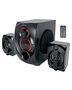 VOLTRON 2.1 BT - 3-channels speaker set with Bluetooth and remote controller