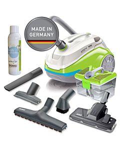 Aspirator Thomas Perfect Air Feel Fresh X3 786532, filtru HEPA13 lavabil, 1400W, Verde