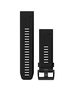 Curea Ceas Smartwatch Garmin Fenix 3 si 5X, Silicon, Negru