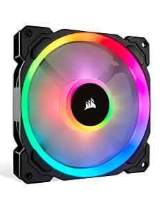 Corsair LL140 RGB LED Static Pressure 140 mm, PWM, two fans