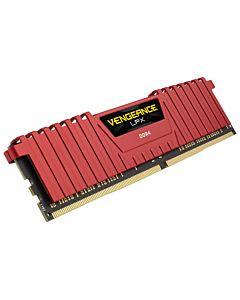 Memorie Corsair 8GB, DDR4, CL16, 2666 MHz, Vengeance LPX Red