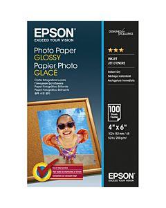 Hartie foto Epson S042548, dimensiune 10x15cm, 100 coli, tip glossy