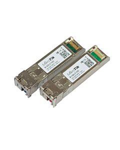 MikroTik S+2332LC10D Bidirectional Single Mode SFP+ 10GbE module kit up to 10km