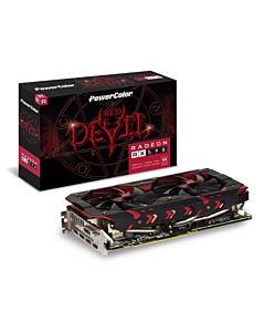 Placa video PowerColor Red Devil Radeon RX 590 8GB GDDR5, 3x DP, HDMI, DVI-D