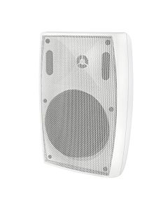 Qoltec SUPER BASS TWO WAY WALL SPEAKER, RMS 35W, 30cm, 8 Om, TRAFO, white